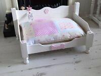 gorgeous Shabby Chic dog bed
