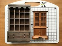 Dollhouse cabinets