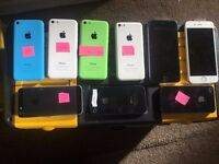 iphone 5c etc for sale