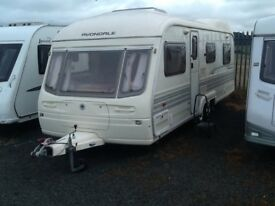 2003 AVONDALE landranger 6400 twin axel 5 berth with awning