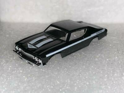 ONE DASH MOTORSPORTS TJET BLACK CHEVY YENKO CHEVELLE SLOT CAR BODY