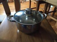 COOKING POT WITH LID INCLUDED