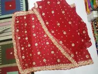 Asian Special Gota Embroidery Work Unstiched Suits