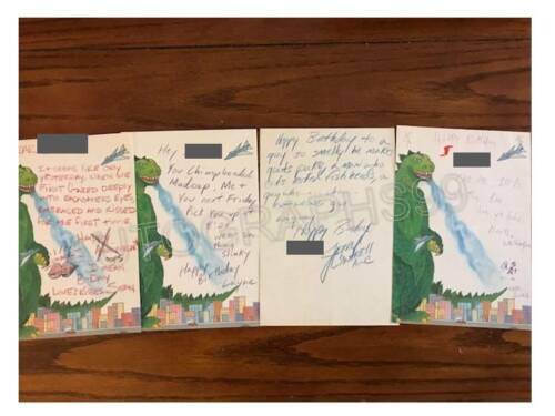 Alice In Chains signed handwritten letters + ACOA! Layne Staley Jerry Mike Sean