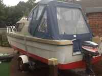18ft Birchwood Boat and Trailer