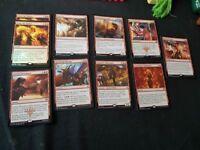 Magic the gathering red rares bundle