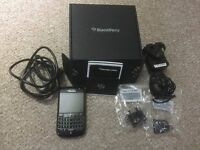 Immaculate Blackberry bold 9780 Black in original packaging and box £65 ONO