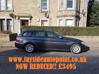 **BMW 318D TOURING*** MOT FEB 2019, FSH, FULL LEATHER, 3 MONTH WARRANTY, REDUCED £3495**