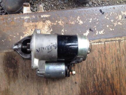 Starter motors and Alternators.