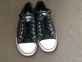 Brand new black converse trainers size uk 4 Euro 37 -£20