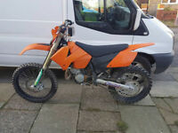 2005 ktm 125 2 stroke Tyler rattery edition PX PX PX WELCOME ????