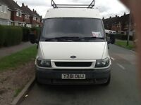 Ford. Transit. Van. Y. Reg. new. Shape. M.o.t. End. Off. October. Got. Full. Size. Roof. Rack.