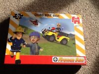 New fireman Sam quad bike ride jigsaw