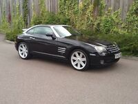 Chrysler Crossfire Auto in Black - PX Welcome