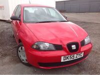 2005/55 SEAT 1.2i - Genuine 43000 miles - Full Service History - Ideal for home mechanic!