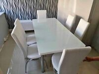 Brand new lovely designers dining tables with 4/6 chairs for sale - grab now