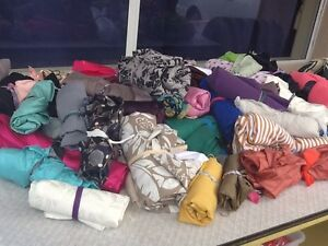 CRAFT CLEAN OUT / FABRICS / LACE /BROKEN JEWELLERY Merrimac Gold Coast City Preview