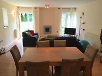 1 Double bedroom in a stunning 2-bed flat with private garden and parking
