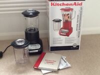 Kitchenaid Artisan blender ex condition as new boxed
