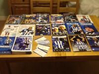 Sheffield Wednesday Football Programmes (total 56) between 1992 and 2011 - & approx 24 tickets)