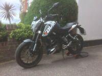 KTM Duke 125 2012 12 Months MOT