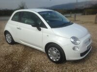 fiat 500 1.2 pop 2009/59 plate 113k full service history and 10 months mot (£30 a year tax)..