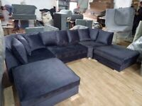 U shape U shape U shape U shape CORNER OR 3+2 SEATER SOFA SET AVAILABLE IN STOCK