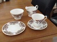 Colclough Royale China tea service