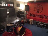 Rehearsal space for band to hire monthly N4 Manor House