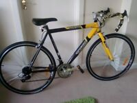 "Tiger Race 3000 Road Bike Large frame 22"" and Alloy Wheels 25"" 700c SHIMANO Gears - Great Bike"
