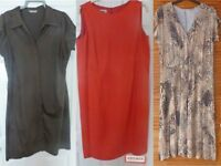 A collecion of 3 classic day dresses