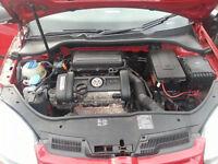 VOLKSWAGEN GOLF MK5 1.4 16V PETROL ENGINE BUD