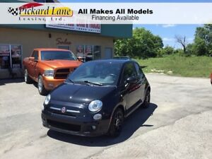 2012 Fiat 500 Sport SUNROOF!! BLUETOOTH!! CERTIFIED!!