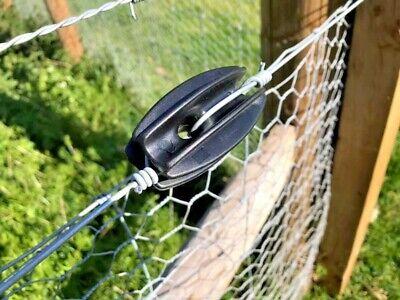 100 high strain end post electric insulators fencing tools sheep equestrian farm