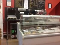 2 m long deli counter. 2 available