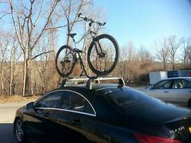Mercedes CLA Roof Rack and Bike Carriers x 3