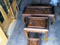 Set of 3 Chinese tables
