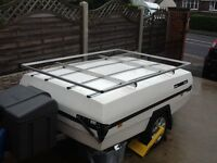 Camplet Trailer Tent Aluminium Cargo Luggage Rack bespoke NEW