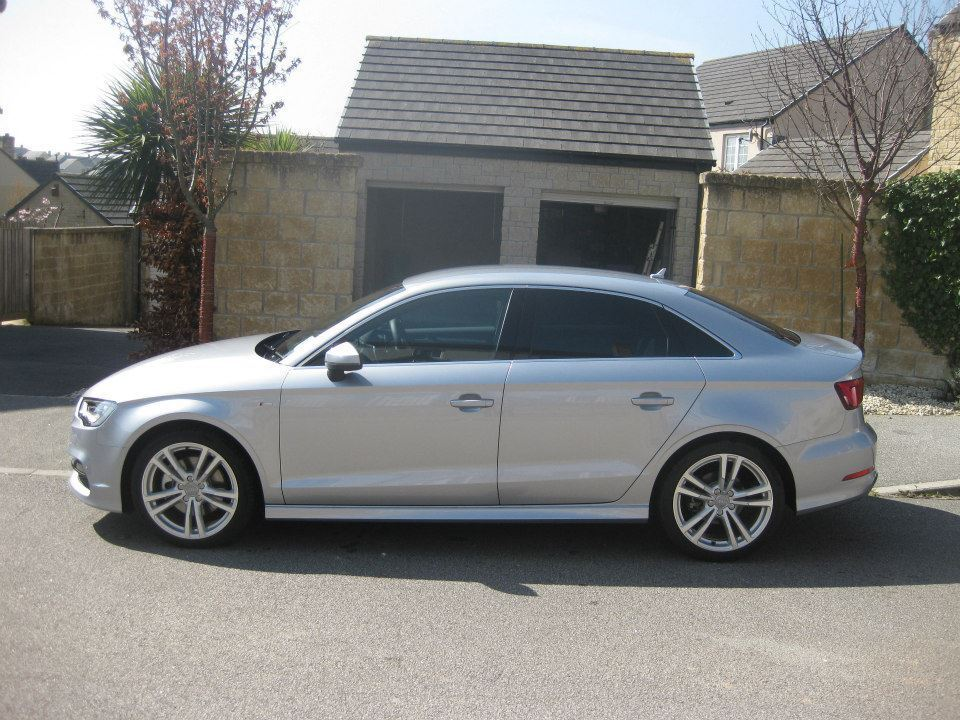 2014 64 audi a3 saloon 1 8 tfsi s line 4dr s tronic in truro cornwall gumtree. Black Bedroom Furniture Sets. Home Design Ideas