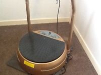 BSlimmer vibration plate as new