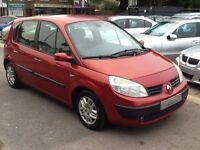Renault Scenic 1.6 VVT Expression 5dr LOTS OF HISTORY + MOT 08/2017