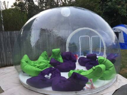 Clear Bubble Tent Hire-Marketing and Promotion-great exposure