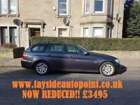 BMW 318 DIESEL TOURING, AVERAGE MILES, MOT FEB 2019, FULL LEATHER, EX CONDITION £3495