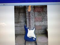 FENDER ROBERT CRAY STRATOCASTER WITH HARD TAIL £350 or £380 with hard case