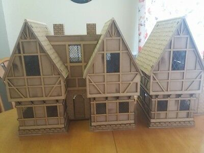 Wooden made-to-order Tudor Dolls House... Set of two