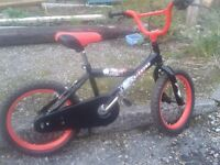 "kids 16"" bike ,excellent condition ,ideal for xmas"