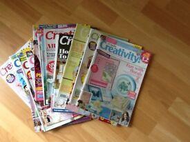 Card making magazines 100+