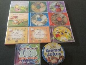 Kids nursery rhymes and fairy tales on CD