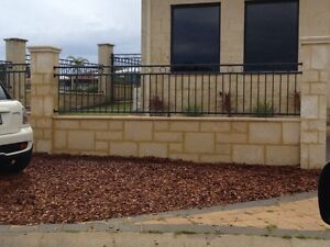 Walls ... Retaining Walls ... Limestone ... Garden beds Perth Perth City Area Preview