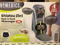 Homedics Shiatsu 2in1 Back & Neck Massager with heat